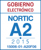Sello de certificación de la NORTIC A2:2015 con el NIU 15006-01-A20F06